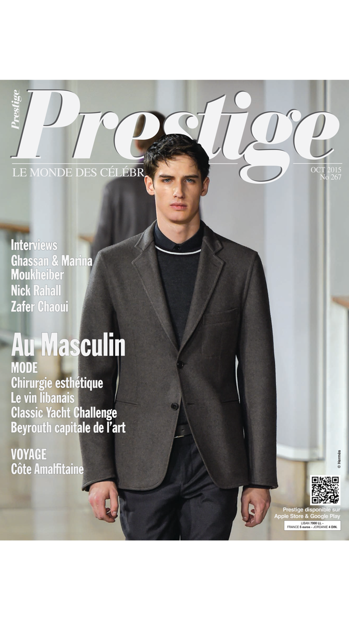 Prestige Magazine Screenshot