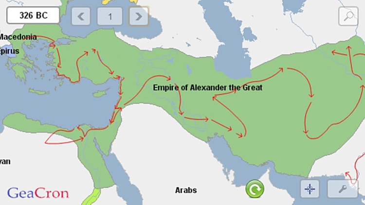 GeaCron History Maps