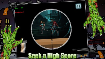 Zombie Attack Sniper Shooting Game FREE screenshot four