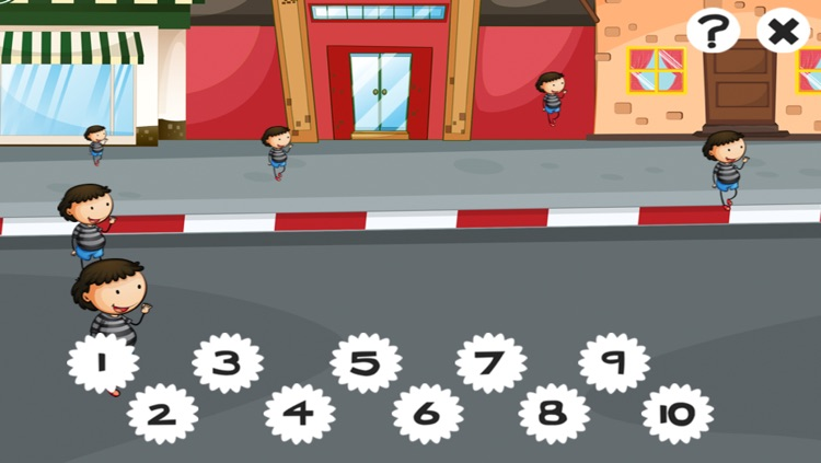 A counting game for children with police-men to learn to count 1-10 screenshot-3