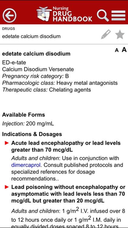 Nursing Drug Handbook screenshot-3