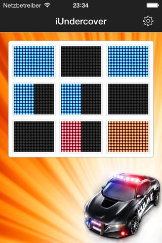 iUndercover - undercover police emergency lights! - náhled