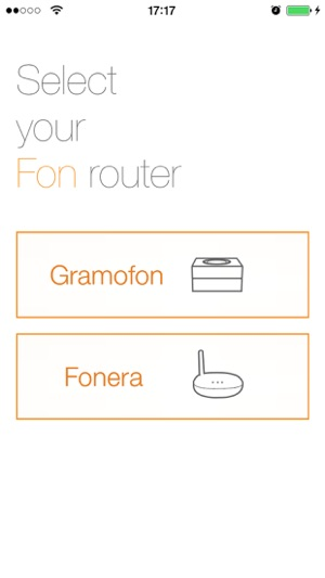 Fon Utility App Screenshot