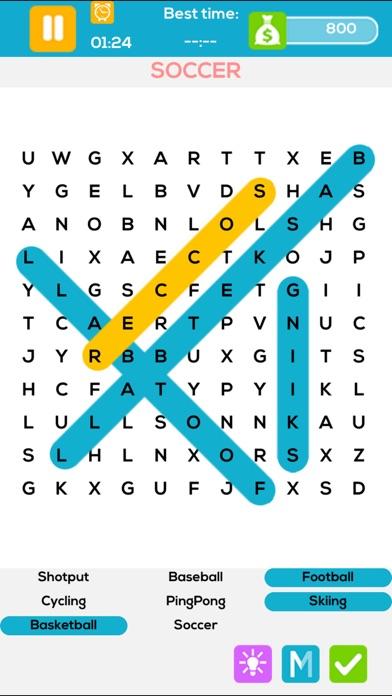 Word Search Go Finder Pro - Crossword Vocabulary Brain Quiz