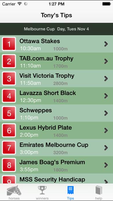 Melbourne Cup Guide 2014 Screenshot