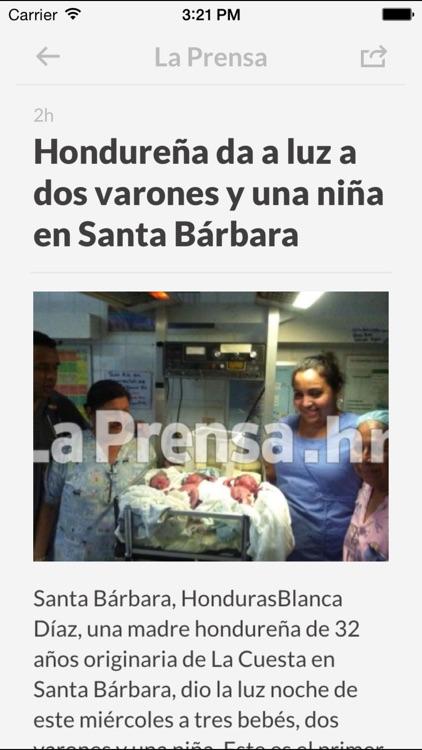 Periódicos HN - Los mejores diarios y noticias de la prensa en Honduras screenshot-3