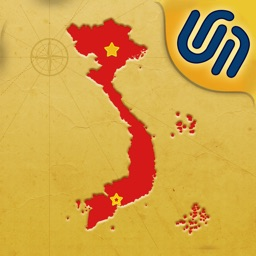 MapPieces: Vietnam - A map puzzle game