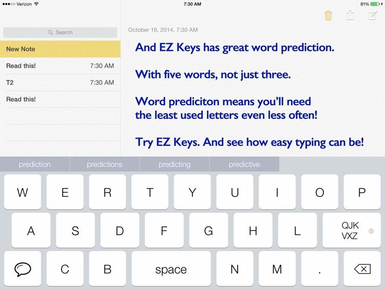 EZ keys screenshot-4
