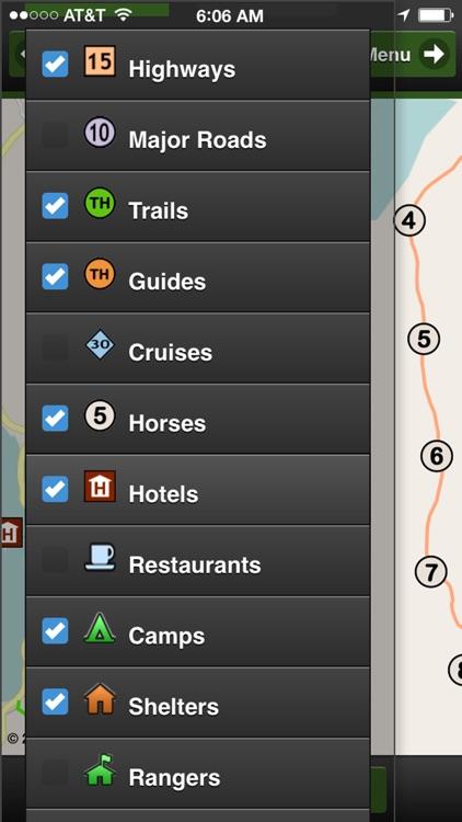 Torres del Paine Park Map screenshot-4