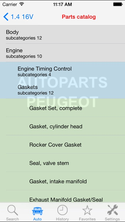Autoparts for Peugeot screenshot-2