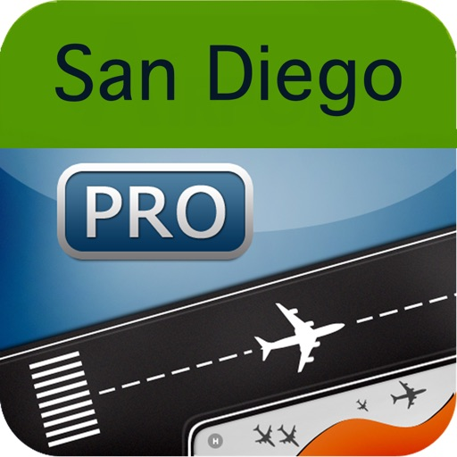 San Diego Airport + Flight Tracker Premium SAN TIJ