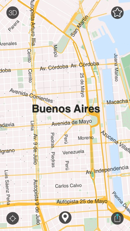 Buenos Aires - Offline Map
