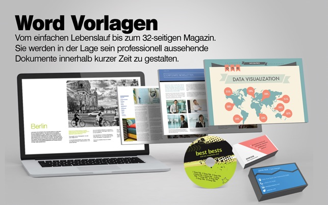 Vorlagen-Center für Microsoft Office: Word Excel Powerpoint im Mac ...