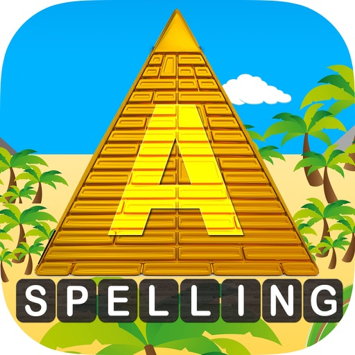 iLearn Junior Spelling - Epic Pyramid Journey HD icon