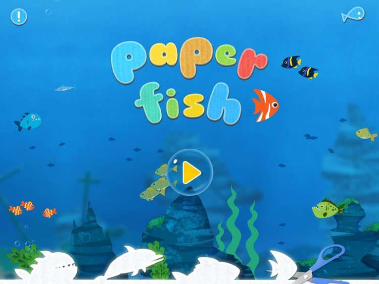 Labo Paper Fish - Make fish crafts with paper and play creative marine games screenshot-0