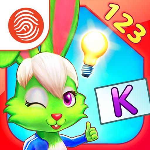 Wonder Bunny Math Race: Kindergarten - A Fingerprint Network App