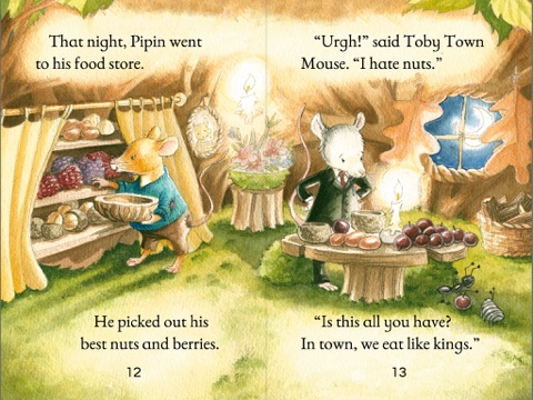 the town mouse and the country mouse by susanna davidson on apple books. Black Bedroom Furniture Sets. Home Design Ideas