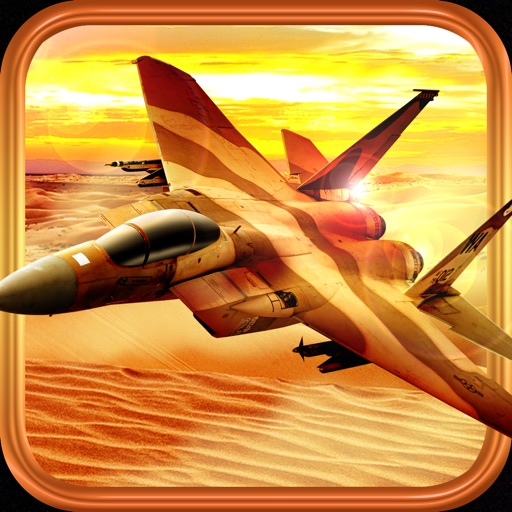 3D Jet Fight-er F18 Desert Sky Force Ops