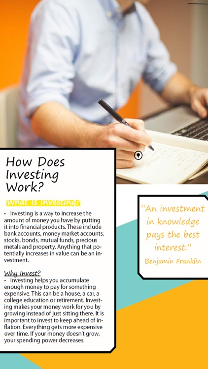 'A uINVESTOR: How to Invest in Stocks for Financial Freedom - Start Investing for a passive income screenshot-1