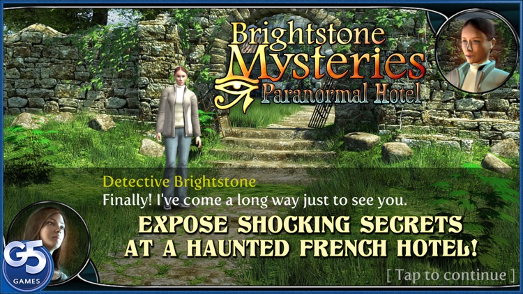 Brightstone Mysteries: Paranormal Hotel (Full) screenshot-0