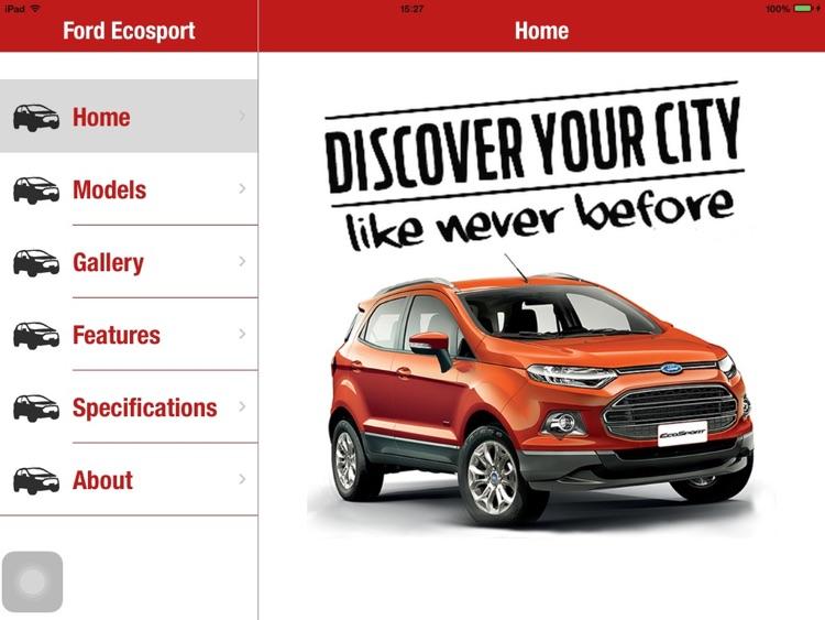 Ford Ecosport Showcase