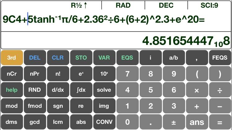 Scientific Calculator EQ7 Pro