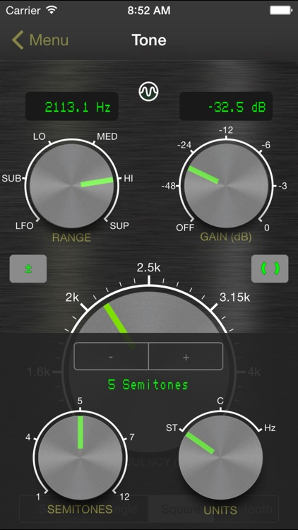 Signal Generator: Audio Test Tone Utility screenshot-2
