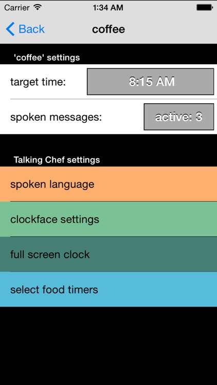 Talking Chef Timers TalkTime screenshot-1