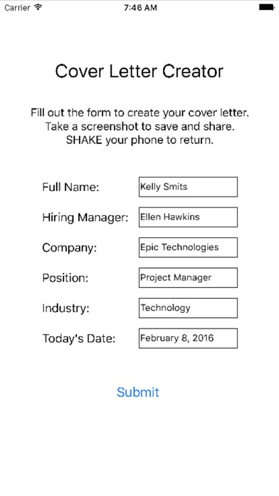 cover letter creator app data review business apps