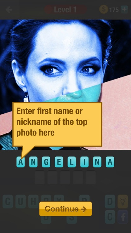 Guess Celebrity Mashup: a challenging trivia quiz game