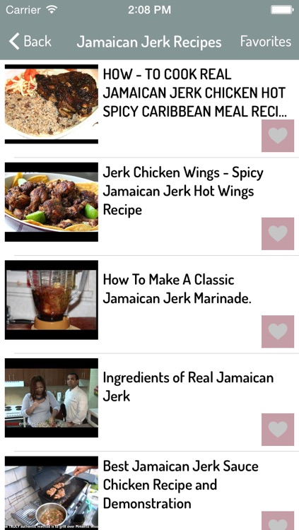 Jamaican Food Recipes screenshot-1