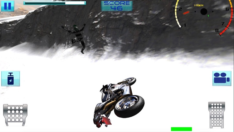 Super Bike Snow Race- 3D the fastest heavy speed bikes on ice and snow