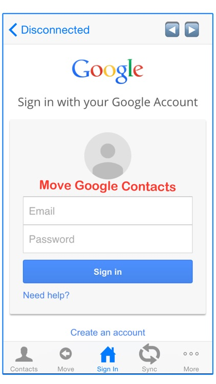 Move Contact: Contacts to Group screenshot-1