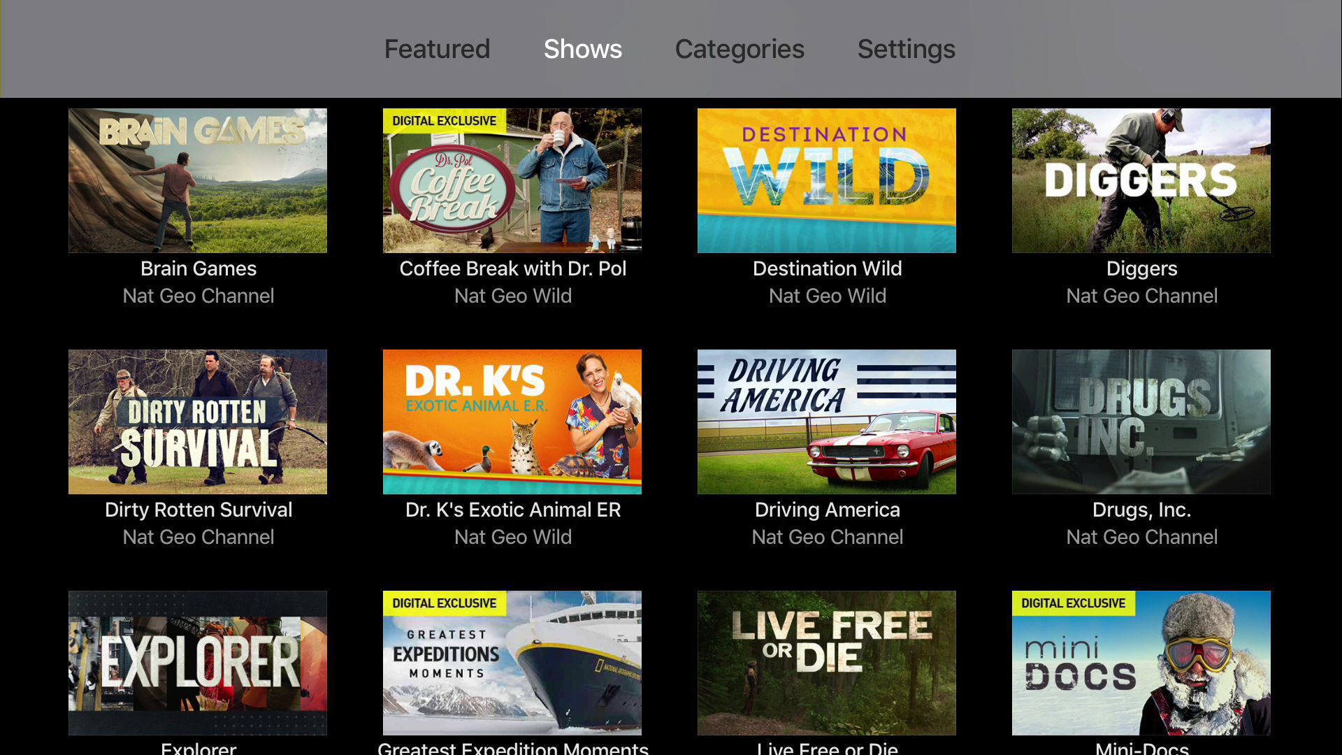 Nat Geo TV: Live & On Demand screenshot 10