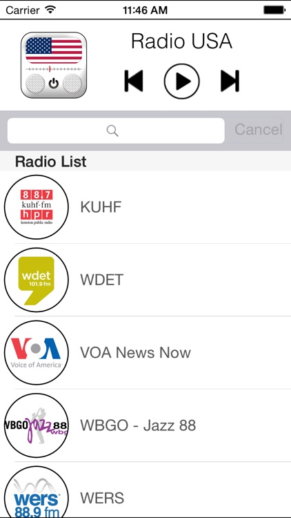 Radio USA Official Version (Music, News) - Edition 2014