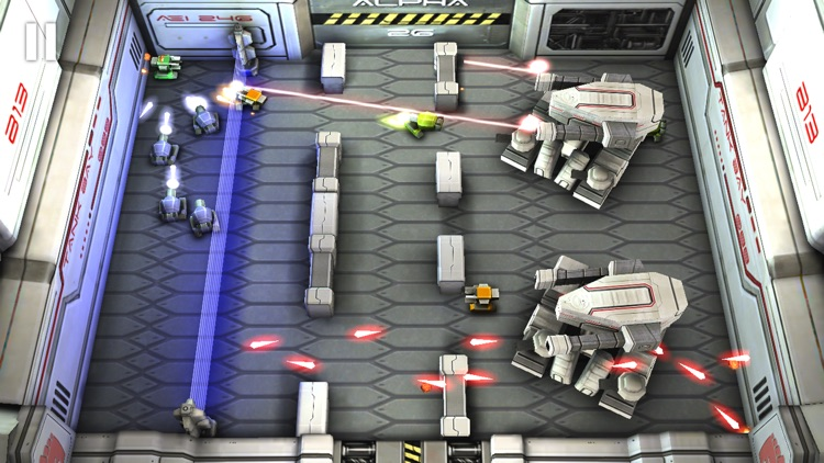 Tank Hero: Laser Wars screenshot-2