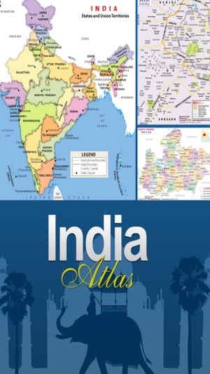 India atlas and maps on the app store screenshots gumiabroncs Images