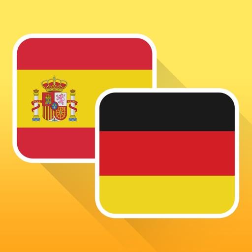 Offline Spanish to German Translator for Travelers and Tourists