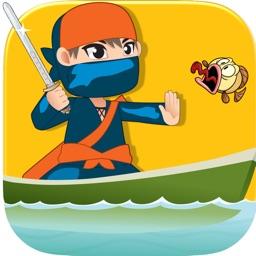 Crazy Ninja Fish Slasher - best Ninja slash challenge game