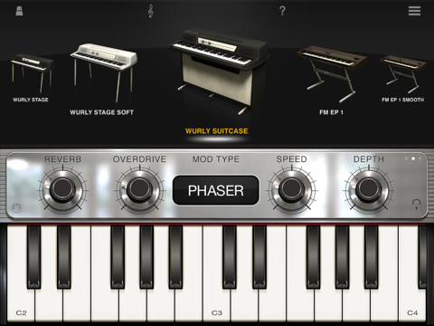 Screenshot #6 pour iLectric Piano for iPad