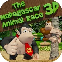The Madagascar Animal Race 3D -  An Addictive Endless Runner Game