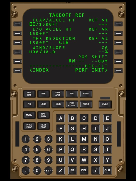 Virtual CDU 747 screenshot-2