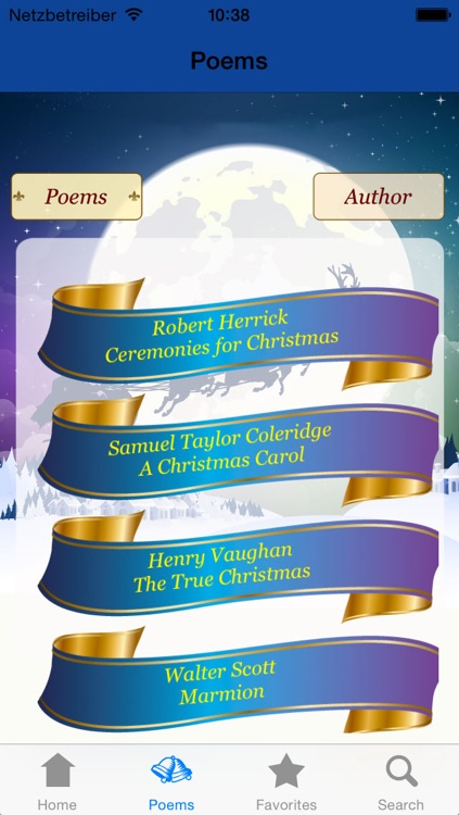 Holiday & Christmas Poems in English and German