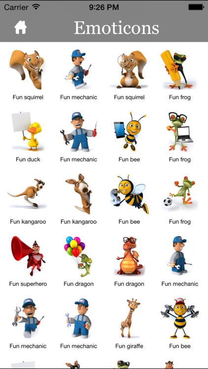 3D Emoji Characters Stickers for Chat Apps and Messengers screenshot-4