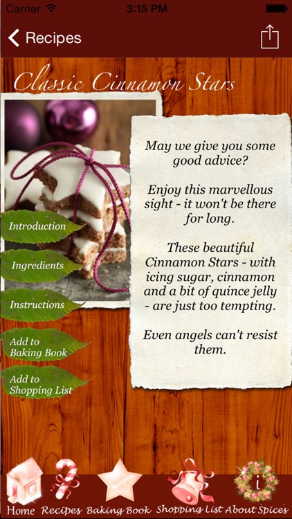 Christmas Cookies - Heavenly Recipes Made by Angels screenshot-3