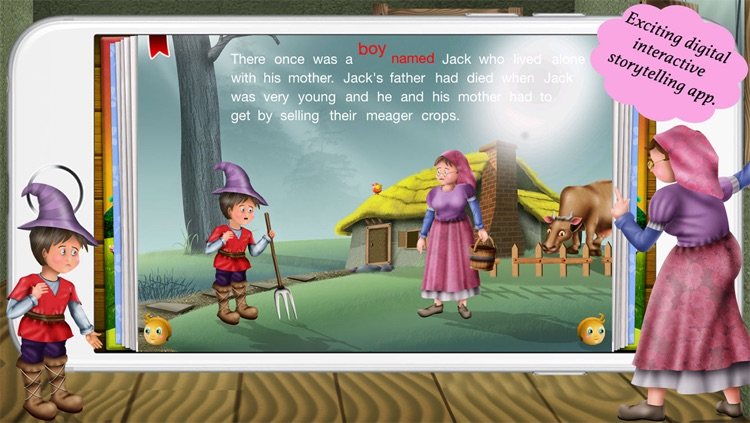 Jack and the beanstalk by Story Time for Kids screenshot-3