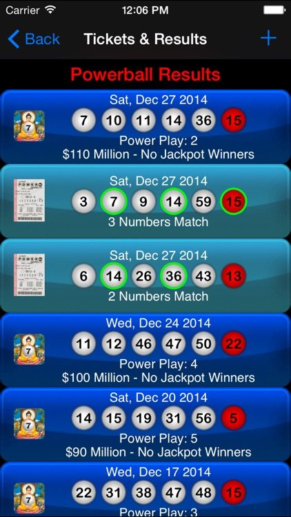 Lotto Results - Lottotopia !