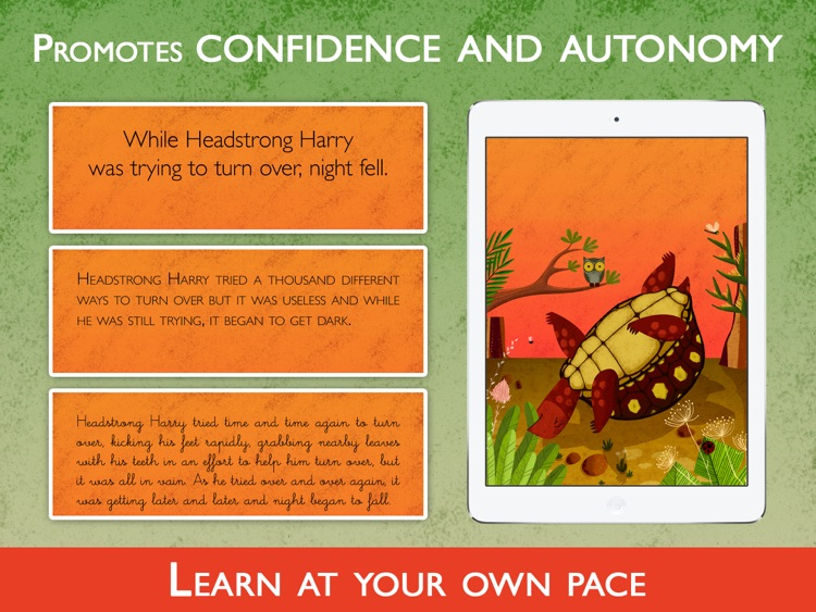 Teach me to read – Headstrong Harry, an Educational Montessori and Constructivist Tool with Activities and Books for Learn to Read. screenshot-3