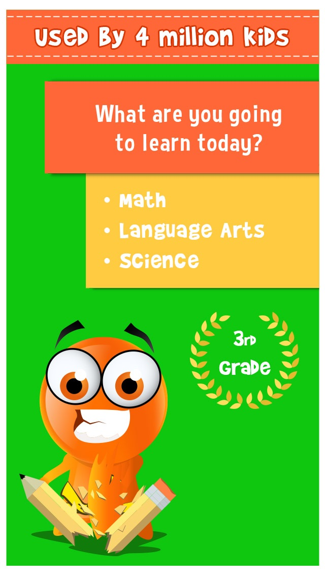 Screenshot #5 for iTooch 3rd Grade App | Math, Language Arts and Science