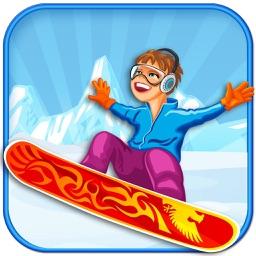 Crazy iStunt Surfer Challenge - Insane Snowboarding Adventure